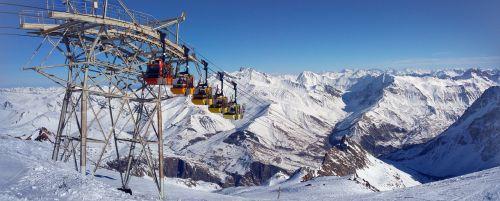 gondola mountain summit