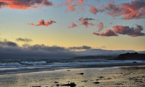 good evening sea sunset