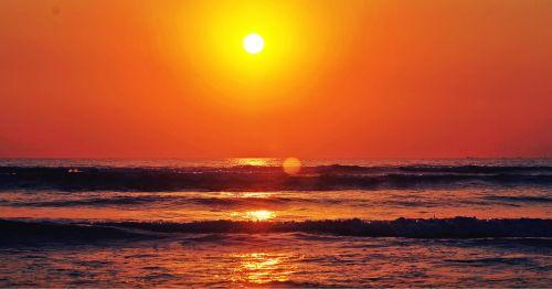 good morning pure sun rise sunset