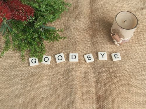 goodbye farewell end