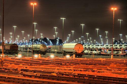 goods station mesh railway