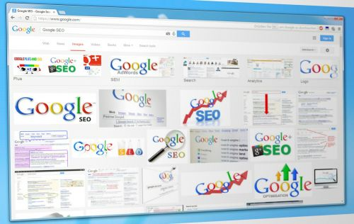 google images google seo