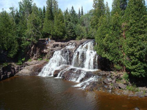 gooseberry falls minnesota north shore