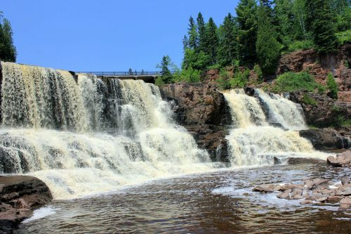 gooseberry falls waterfalls usa