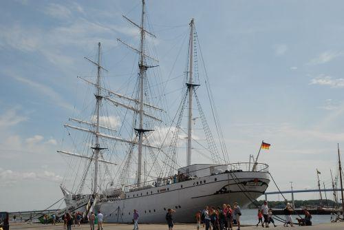 gorch fock sailing vessel port