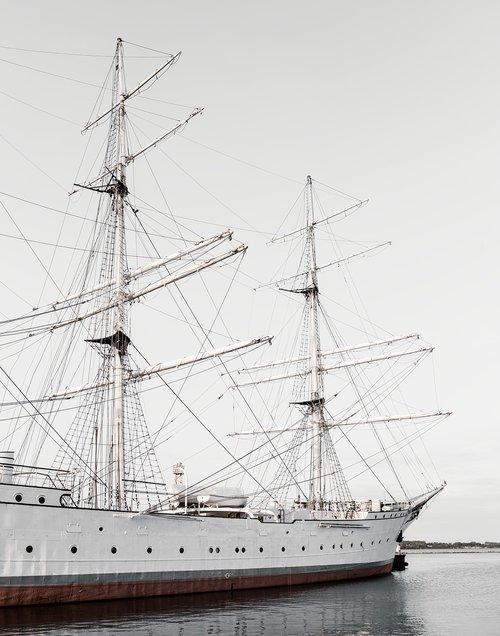 gorch fock  ship  sailing vessel