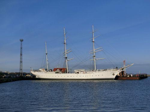 gorch fock sailing ship ship