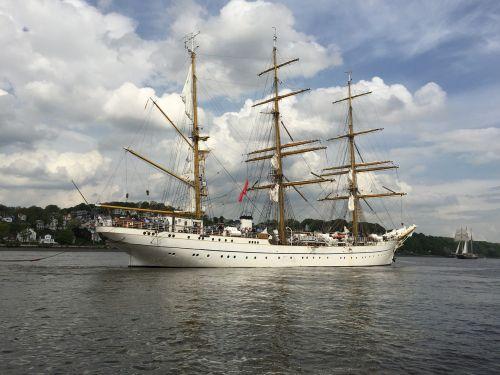 gorch fock sail training ship