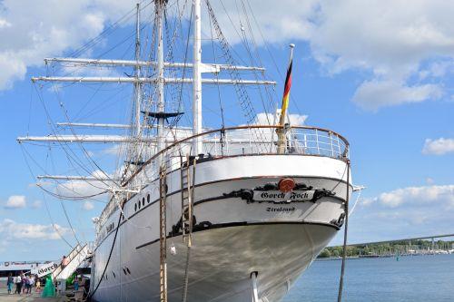 gorch fock sailing boat sailing vessel
