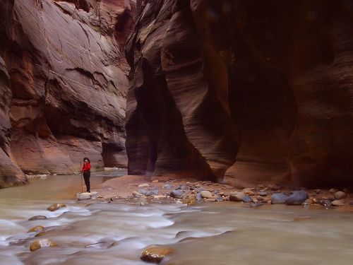 gorge canyon riverbed