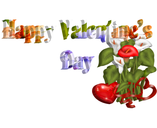 gorgeous flowers valentine
