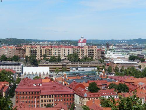 gothenburg rooftops city