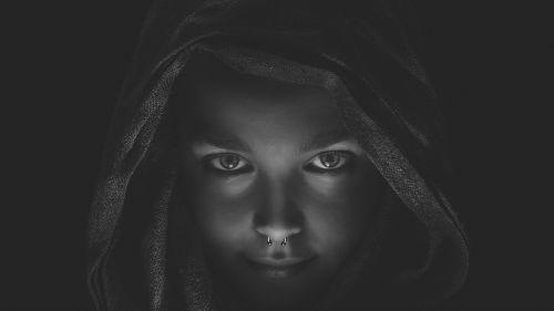 woman gothic dark