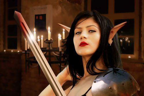 gothic fantasy woman