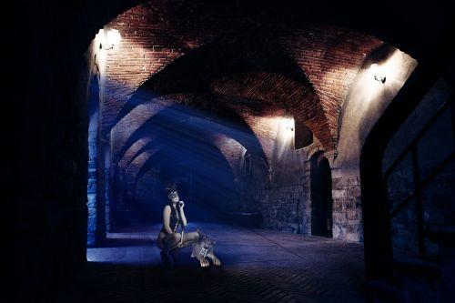gothic vault side light
