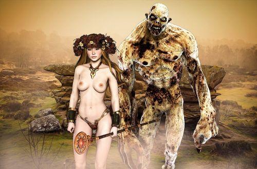 gothic fantasy couple