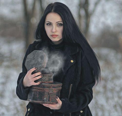 gothic female dark