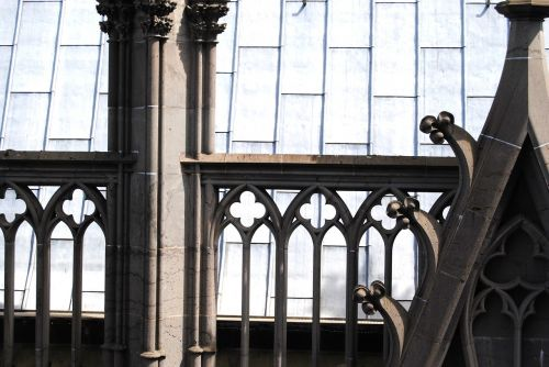 gothic arch balustrade cologne