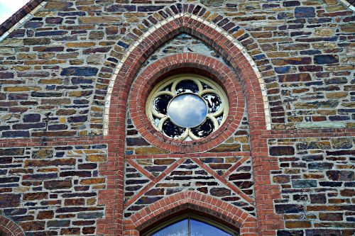 gothic window old fashioned architecture