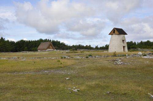 gotland windmill landscapes