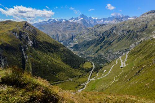gotthard gotthard pass alpine