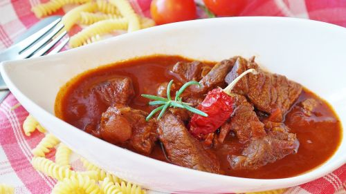 goulash meat beef