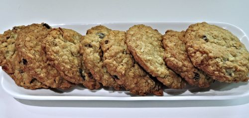 gourmet cookies oatmeal raisins