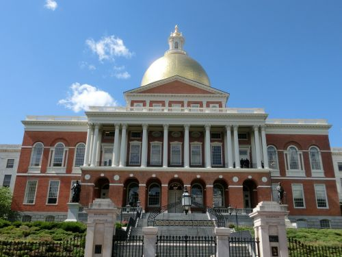 government buildings boston usa