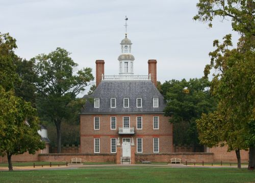 governor's palace colonial williamsburg museum