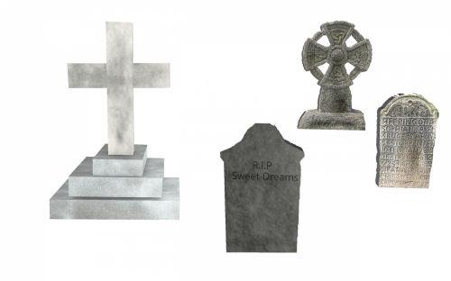 Grave Stone Set