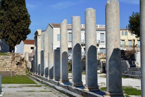 grace athens columns