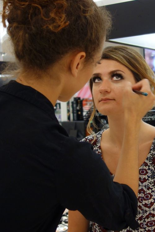 makeup model process