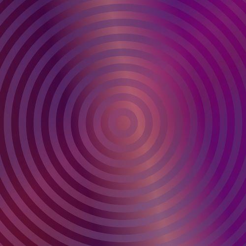 gradient purple background concentric