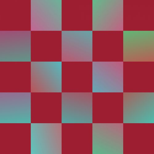 Gradient Checkerboard