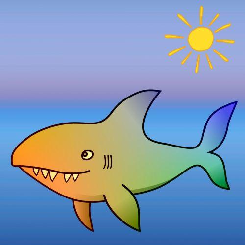 Gradient Shark