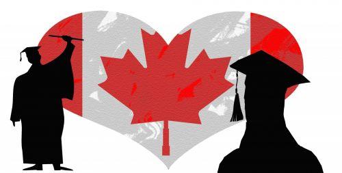 Graduate Grad Canada Flag