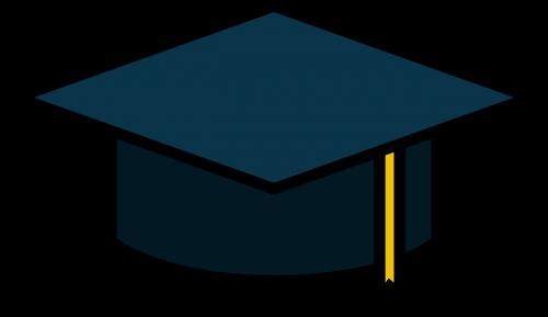 icon graduation education