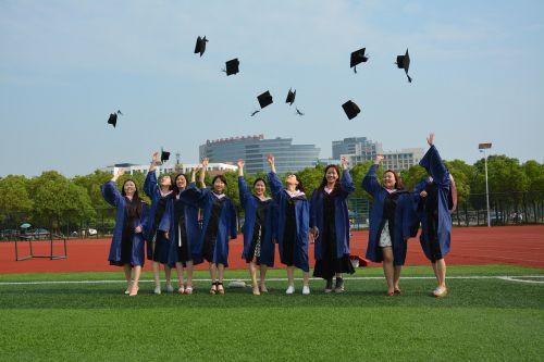 graduation master's cap campus