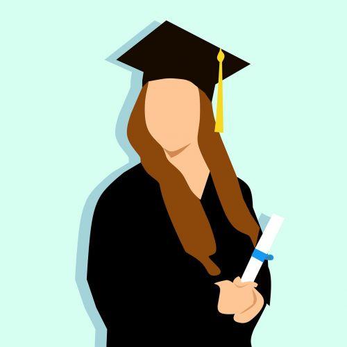 graduation university women