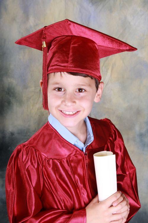 graduation kindergarten graduation boy