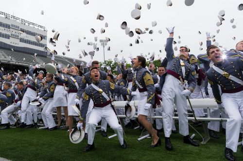 graduation west point officers