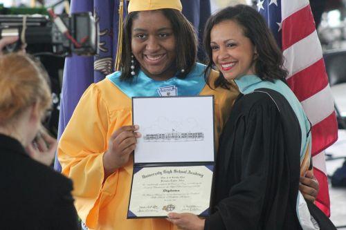 graduation african american graduate