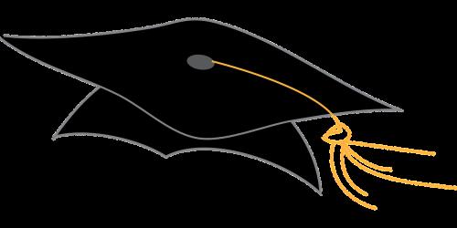 graduation cap graduation hat coll