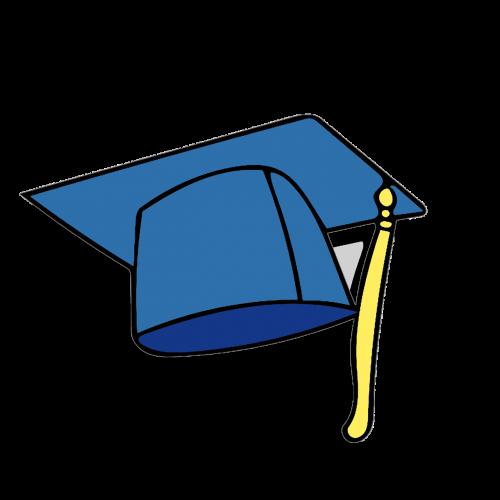 graduation cap icon clipart