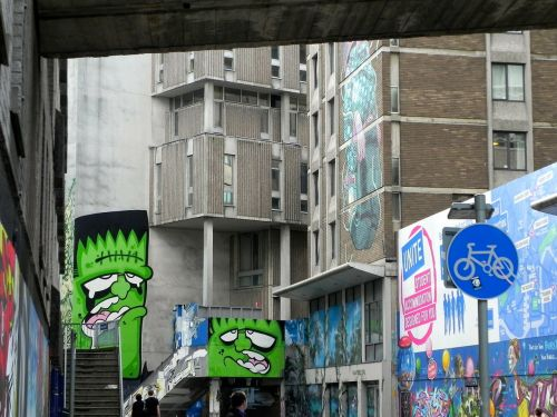 graffiti bristol england