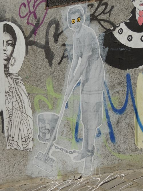 graffiti paris wall