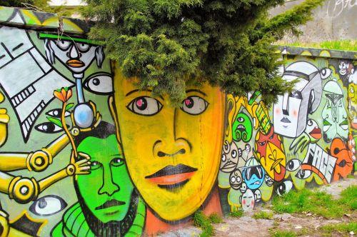 graffiti image modern art