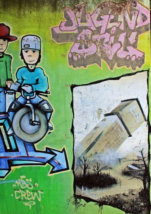 graffiti zeche anna anna-park