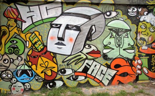 graffiti wall spray