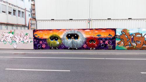 graffiti colorful sprayer